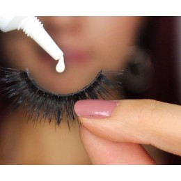 Glue for false eyelashes